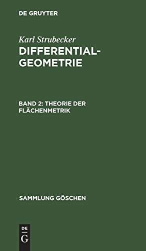 Theorie der Flächenmetrik (Sammlung Göschen)