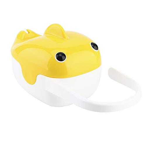 Accesorios para chupetes Caja de almacenamiento portátil para chupetes a prueba de polvo, contenedor para chupetes, para bebés pequeños(yellow)