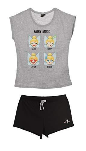 Tinker Bell Damen Kurz Pyjama Schlafanzug