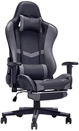 LHMYHJR Gaming Chair Gaming Stuhl Komfortable sesshafte Computerstuhl Home Gaming Stuhl Internet Cafe Gaming Sitz Video Spielstühle-Einheitsgröße_Schwarz 2.
