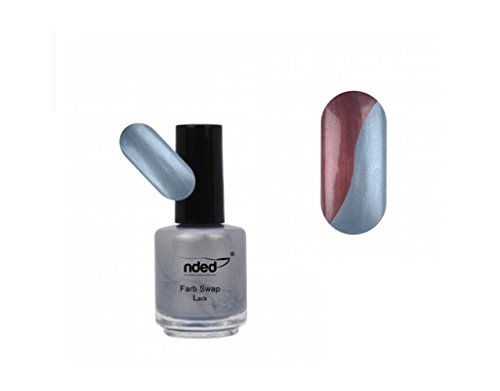 Nagellack Swap iceblue, Strawberry Rot–Ändert die Farbe–NEU–ref5595