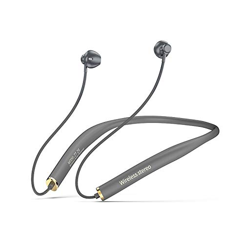 Bluetooth Headphones Wireless Earbuds Neckband with mic Noise Cancelling Wireless Headset 400 Hours Standby time for Sports