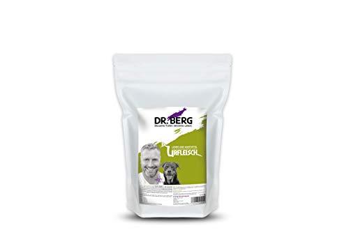 Dr. Berg URFLEISCH Lamm & Kartoffel - Getreidefreies, hypoallergenes Hundefutter - Trockenfutter mit viel FRISCHFLEISCH - extra verträglich und lecker durch natürliche Zutaten (1 kg)