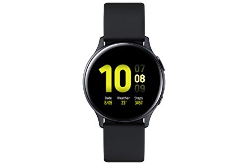 SAMSUNG SM-R830NZKAPHE Galaxy Watch Active 2 - Smartwatch de Aluminio, 40mm, Color Negro, Bluetooth [Versión española]