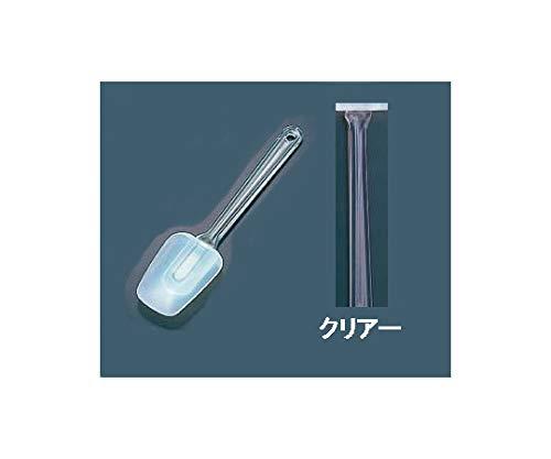 アズワン スコップ型 カラーハンドクリーナー 中 クリアー/62-6449-78
