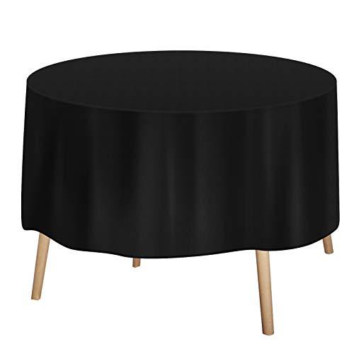 Redmoo Cubierta para Muebles de jardín, Cubierta Protectora Cubierta Protectora para Muebles de jardín, Cubierta Protectora Impermeable Juegos de, Tela Oxford 420D Impermeable (Ø128*71cm)