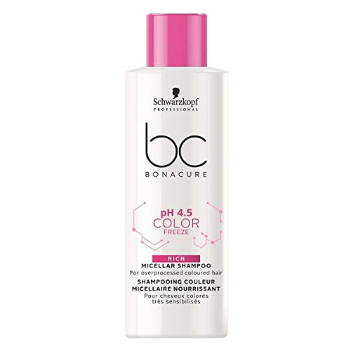 Schwarzkopf Professional BC Bonacure pH 4.5 Color Freeze Rich Micellar Shampoo 50 ml
