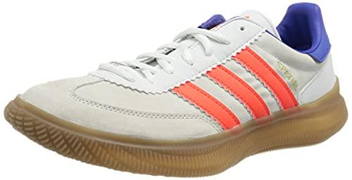 adidas HB Spezial Pro, Zapatillas de Running Hombre, FTWBLA/Rojsol/TINSON, 43 1/3 EU