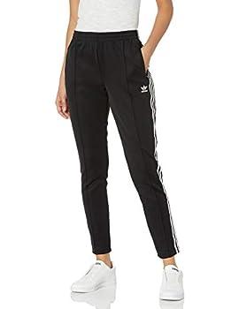 adidas Originals Women s Bottoms Superstar Track Pants Black X-Small
