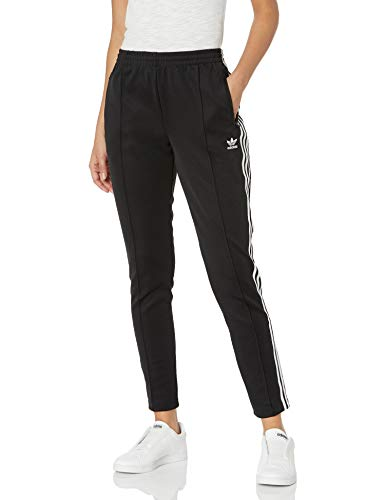 adidas Originals Women's Bottoms Superstar Track Pants, Black, X-Small