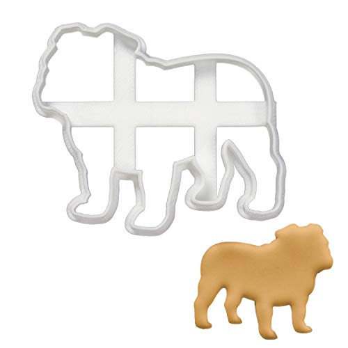 English Bulldog Silhouette cookie cutter, 1 piece - Bakerlogy