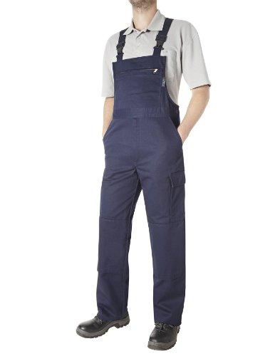 Pionier 9491-59 Latzhose Cotton Pure Größe 59 in marineblau
