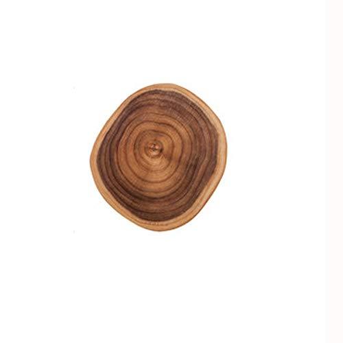SPNEC Estilo rústico Acacia de Madera de Cortar Bloques Enteros de Madera en Rollo for Uso doméstico Mini Frutas Tablas for Cortar Prueba del Moho Vajilla