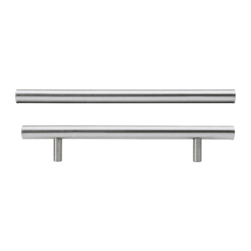 IKEA LANSA–Griff, Edelstahl/2Stück–245mm