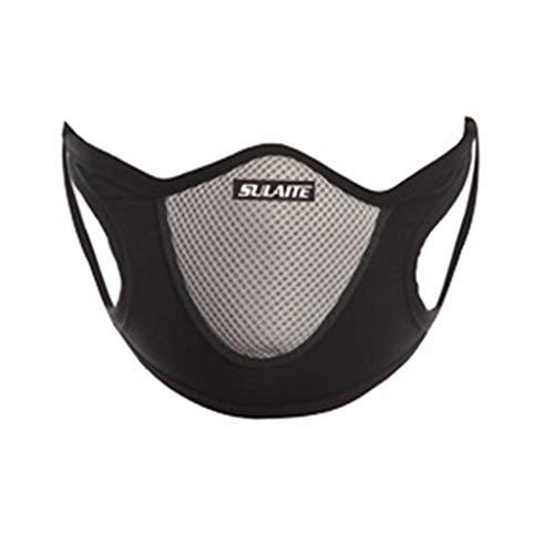 Staubmasken Atemschutzmasken, Dustproof Breathing Filtermaske Gesichtsmasken Staub-Maske für Partikel Stoff Aktivkohlefilter Mund Abdeckung Filter Mundschutz (Grau)