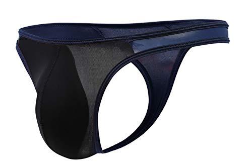 lclvld Tanga Sexy para Hombres Seda de Hielo Calzoncillos de Tanga cómodos Calzoncillos de Tanga Ropa Interior