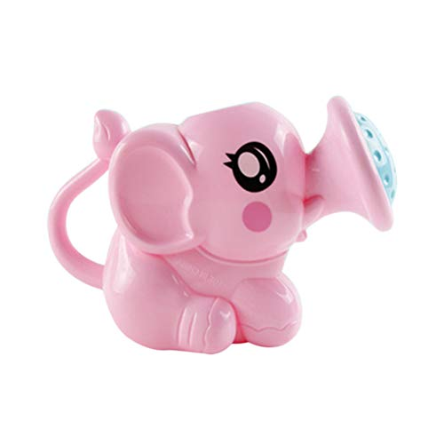LIOOBO Elefant-Gießkanne Baby scherzt Badespielzeug-Strand-Spielwasser kann Rosa