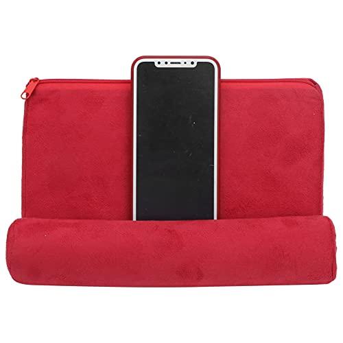 Soporte Suave para Tableta para teléfono, Soporte para Tableta para Cama, Tela de Gamuza, Almohada, Soporte para Tableta, reposabrazos para Cama