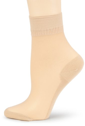Kunert Damen Socken, 169900 Cotton Sole 20, Gr.  39-42 Hautfarben (Teint 3520)