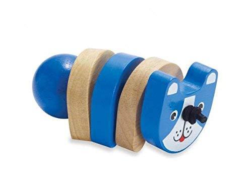 Manhattan jouet en bois Hochets (Click Clack Chien)