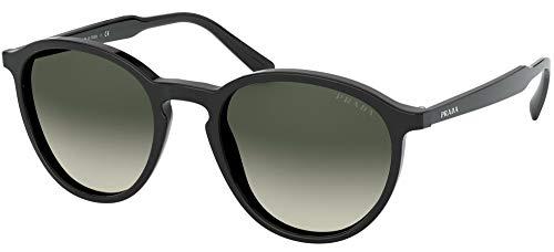 Prada Herren 0PR 05XS Sonnenbrille, Black/Light Grey Shaded, 51