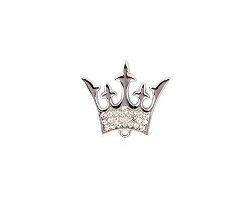 ridderschap mannen koninklijke koning koningin kroonbadge pak kraag broche zilver