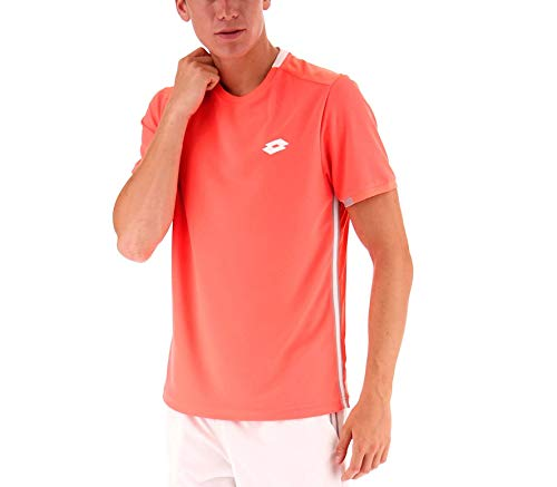 Lotto Tennis Teams Tee Herren Fiery Coral (XL)