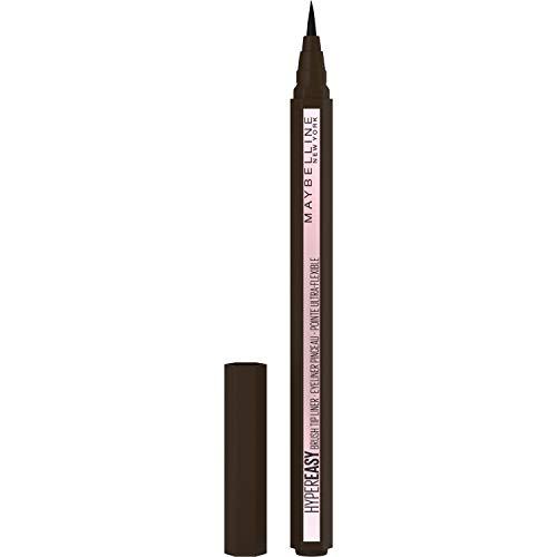 Maybelline New-York - Eyeliner Pinceau - Pointe Ultra-Flexible - Hyper Easy - Teinte : Pitch Brown (810)