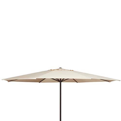 Madison Sonnenschirm Taupe Ampelschirm Kurbelschirm Gartenschirm Marktschirm