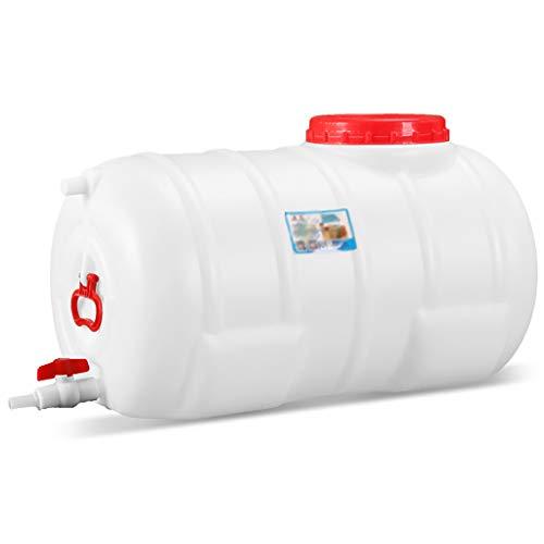 MORN Bidones de Agua, Contenitore per Acqua, Tanque de Almacenamiento de Gran Capacidad, Utilizado para Almacenar Agua Potable para Cortes de Energía (Tamaño: 75L, 125L)