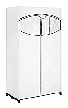 Whitmor Clothes fabric 36  Closet With White Cover