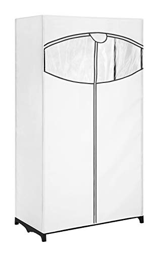 "Whitmor, Clothes Fabric, 36"", Closet with White Cover"