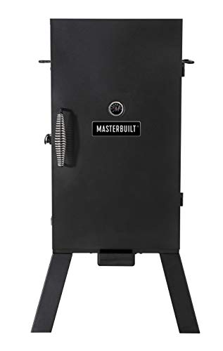 Masterbuilt MB20070210 Analog Electric Smoker with 3 Smoking Racks, 30 inch, Black