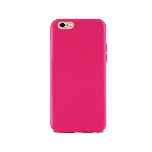 PURO Icon Cover in Silicone Liquido per iPhone 6/6s Fucsia