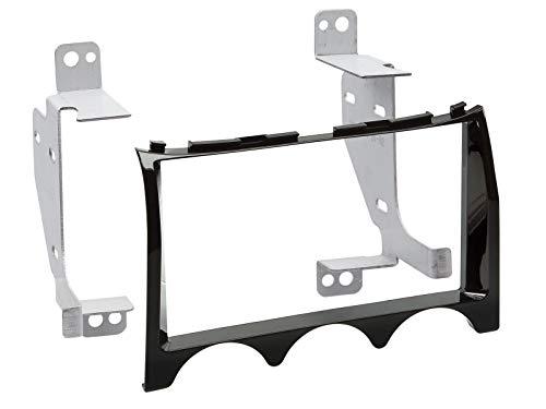Radioblende Hyundai Genesis ab Bj. 2013 2-DIN-Set / piano schwarz