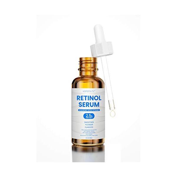 HOPEMATE Natural Facial Retinol Serum with Hyaluronic Acid& Vitamin E, New Skin...