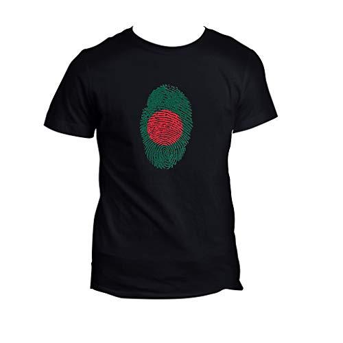 Yowablo T-Shirt pour Hommes d'été décontracté Simple imprimé col Rond Manches Courtes Haut Chemisier (L,4 Noir)