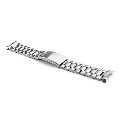 Unisex Edelstahl Armband 20mm (silber) ( Farbe : Silber )