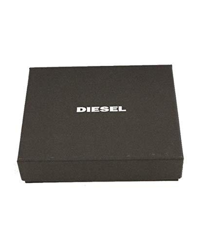 (ディーゼル)DIESELメンズ財布二つ折り型押しクロコウォレットX03902P0178UNIブラックT8013
