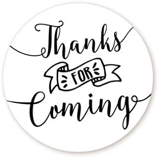 Thank You Stickers | Thanks for Coming Stickers | 1.67