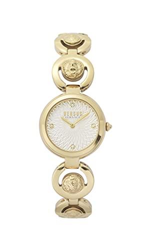 Versus Versace Reloj Analógico para Mujer de Cuarzo con Correa en Acero Inoxidable VSPHL0220