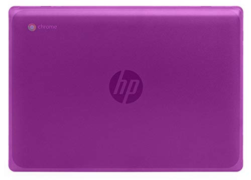 mCover Carcasa rígida Compatible con portátiles HP Chromebook 11 G8 EE /G9 EE 11.6 pulgadas (púrpura)