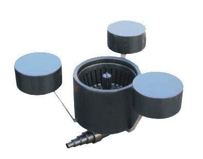 Pondlife CSP-250A Schwimm-Skimmer für bis zu 25m² Oberfläche Teichreinigung