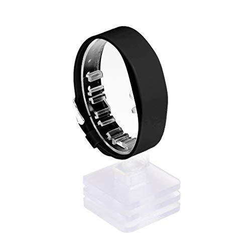 3 Stück RFID Silikon Armband SILA09a MIFARE® Classic 1K 13,56 MHz (schwarz)