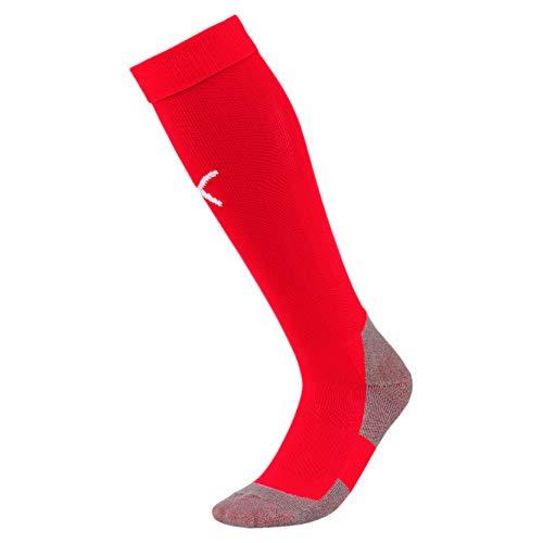 Puma Liga Socks Core, Calcetines para Hombre, Rojo (Red/White), 31-34