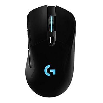 【Logicool G G703h ワイヤレスゲーミングマウス】人の手の形に合わせて成形されるエルゴノミクスデザインのG703hは旧製品G703/G703dと比べて、最新のHERO 25Kセンサーにアップグレードされ、107gから95gまでに軽量化と32時間から60時間までバッテリー駆動時間になり、よりパワーフルより軽量に実現した。 【HERO センサーさらなる進化】G703hに搭載した次世代HERO 16Kオセンサーは25Kに進化。精度性能約4倍、電源効率は約10倍向上し、最大のトラッキング精...