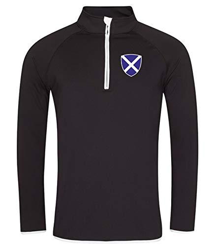 Nation Schottland Sweatshirt Sport Atmungsaktiv UV-Schutz GO JC SC-W (M)