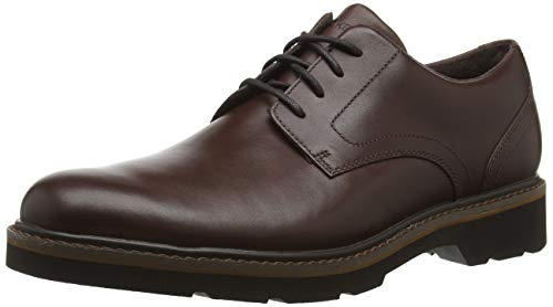 Rockport Derbys, Charlee Plain Toe Shoe Men, Brown, 10 UK