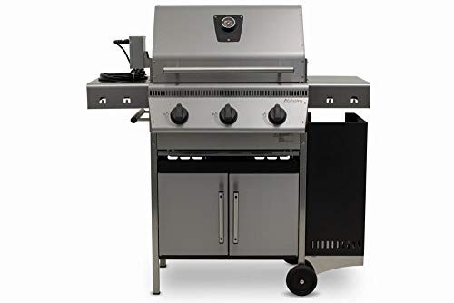 Schickling Gasgrill Edelstahl PremioGas II All In One