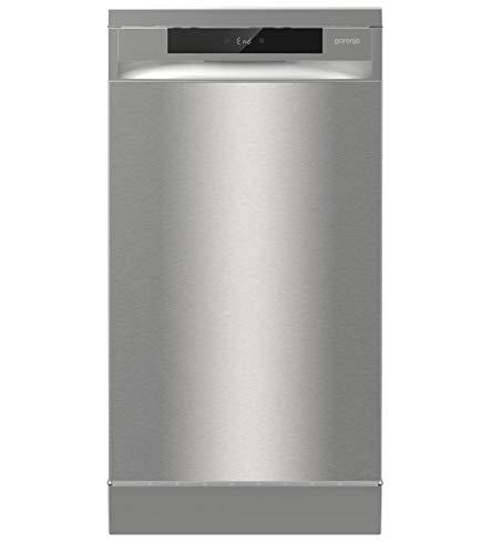 Gorenje GS 541D10 X Freistehender Geschirrspüler / SuperSilent / 11 Maßgedecke / 5 Programme / Programmanzeige / TotalDry / Silber
